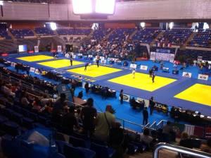 tatami campeonato del Mundo Senior