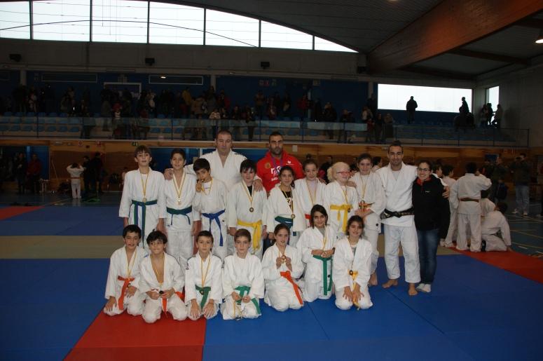 Alevines judo club Muñiz